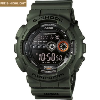 Casio Herrenuhr GD-100MS-3ER