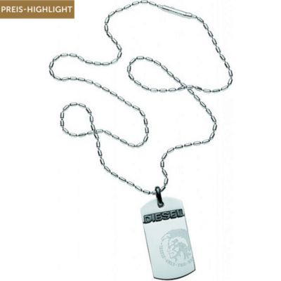 Diesel Dog Tag Herrenkette