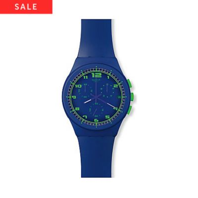 Swatch Chronograph BLUE C SUSN400