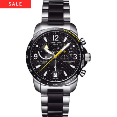 CERTINA Chronograph DS Podium C001.639.22.207.01 GMT
