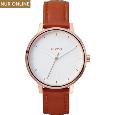 Nixon Damenuhr Kensington Leather Rose Gold A108 1045