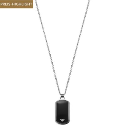 Emporio Armani Dog Tag Herrenkette