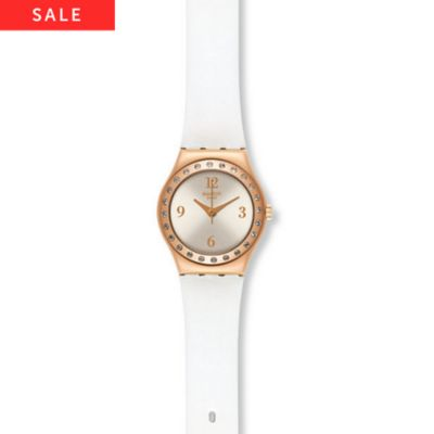 Swatch Damenuhr La Rose Douce YSG133