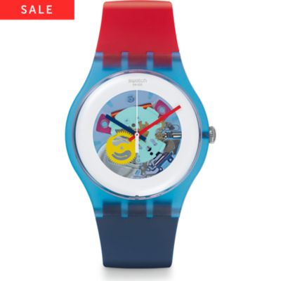 Swatch Herrenuhr Color My Laquered SUOS101