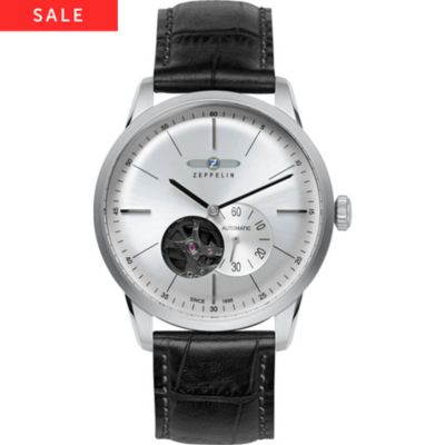 Zeppelin Herrenuhr Flatline 7364-4