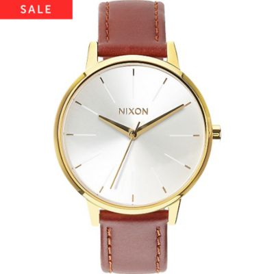 Nixon Damenuhr Kensington Leather