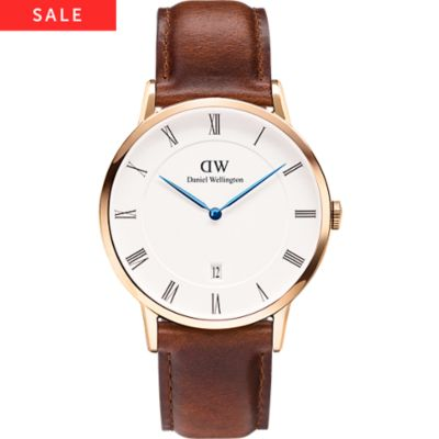Daniel Wellington Herrenuhr Dapper St. Mawes,