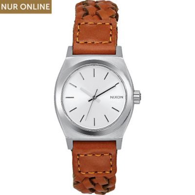Nixon Damenuhr Small Time Teller Leather A509 - 2082