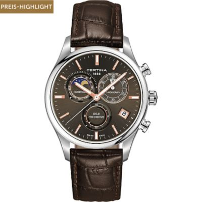 CERTINA Chronograph Mondphase