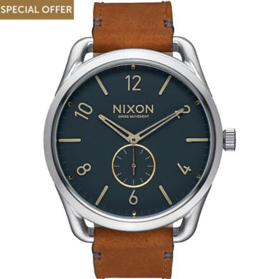Nixon Damenuhr C45 Leather