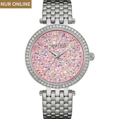Caravelle New York Damenuhr Crystal Rock43L194