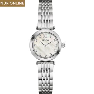 Bulova Damenuhr Diamonds 96S167