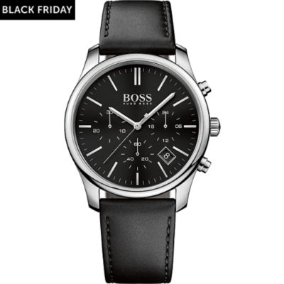 BOSS Herrenuhr Time One 1513430