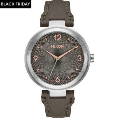 Nixon Unisexuhr Chameleon Leather A992 2271-00