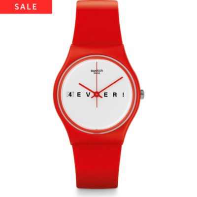 Swatch Herrenuhr 4everfever