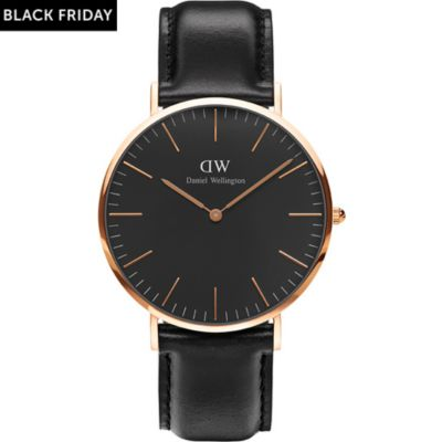 Daniel Wellington Herrenuhr Classic Black Sheffield