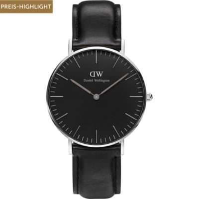 Daniel Wellington Damenuhr Classic Black Sheffield
