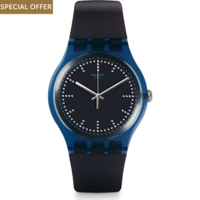 Swatch Unisexuhr Blue Pillow