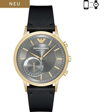 emporio armani connected smartwatch art3006 bei bestellen. Black Bedroom Furniture Sets. Home Design Ideas