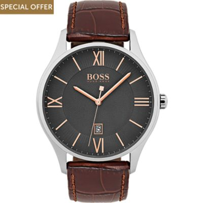 Boss Herrenuhr Governor Classic 1513484