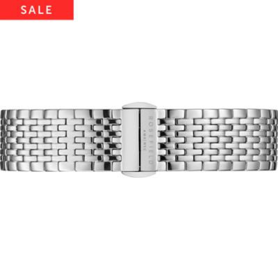 Rosefield Uhrenarmband Metall The Upper East Side UES-S136
