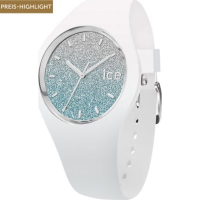 Ice-Watch Damenuhr lo White Blue 0
