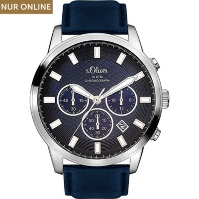 s.Oliver Herrenuhr SO-3336-LC