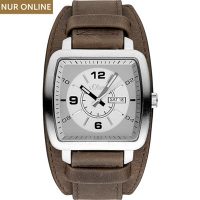 s.Oliver Herrenuhr SO-3492-LQ