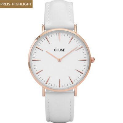 Cluse Damenuhr La Bohme Rose Gold