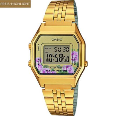 Casio Unisexuhr Collection Retro LA680WEGA-4CEF