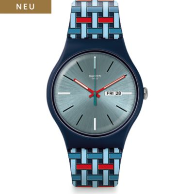 Swatch Unisexuhr Wovering SUON710
