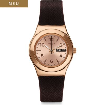 Swatch Unisexuhr Brownee YLG701