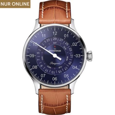 Meistersinger Herrenuhr Pangaea Day Date PDD908