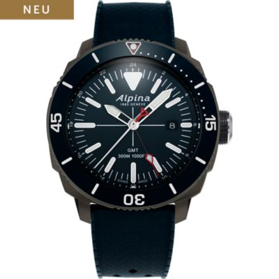 Alpina Herrenuhr Seastrong Quartz GMT AL-247LNN4TV6