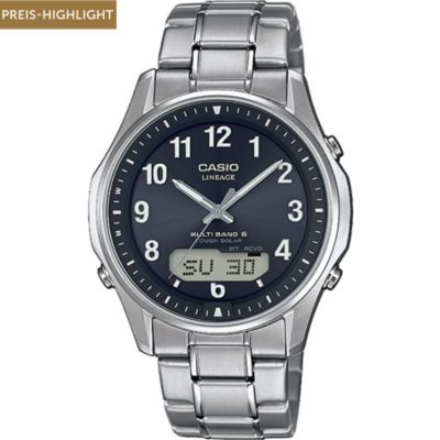 Casio Herrenuhr Radio Controlled