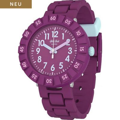 Flik Flak Kinderuhr Solo Purple