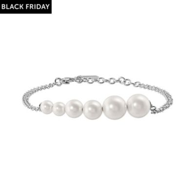 JETTE Silver Armband Pure Pearl 86882761