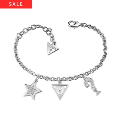 Guess Armband Start Heart And Charms