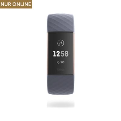 Fitbit Fitnessarmband Charge 3 FB409RGGY-EU
