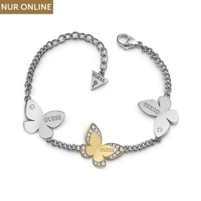 Guess Armband Three Butterfly
