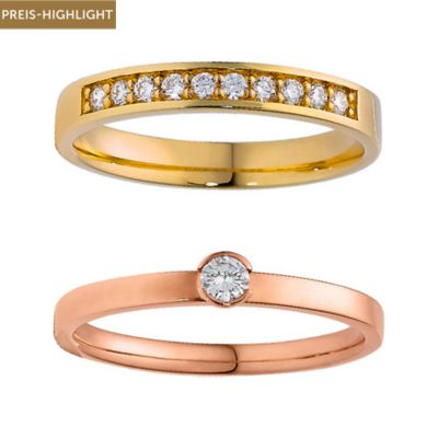 CHRIST Diamonds Ringset 5000619