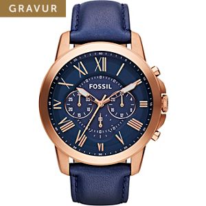 Fossil Herrenchronograph FS4835