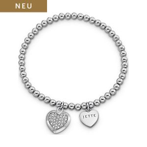 JETTE Silver MY LOVE Armband