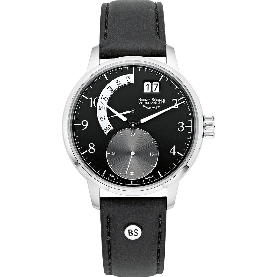 bruno sohnle herrenuhr stuttgart i big 17 13175 240 ...