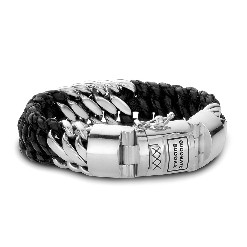 Permalink to Mens Leather And Silver Bracelets