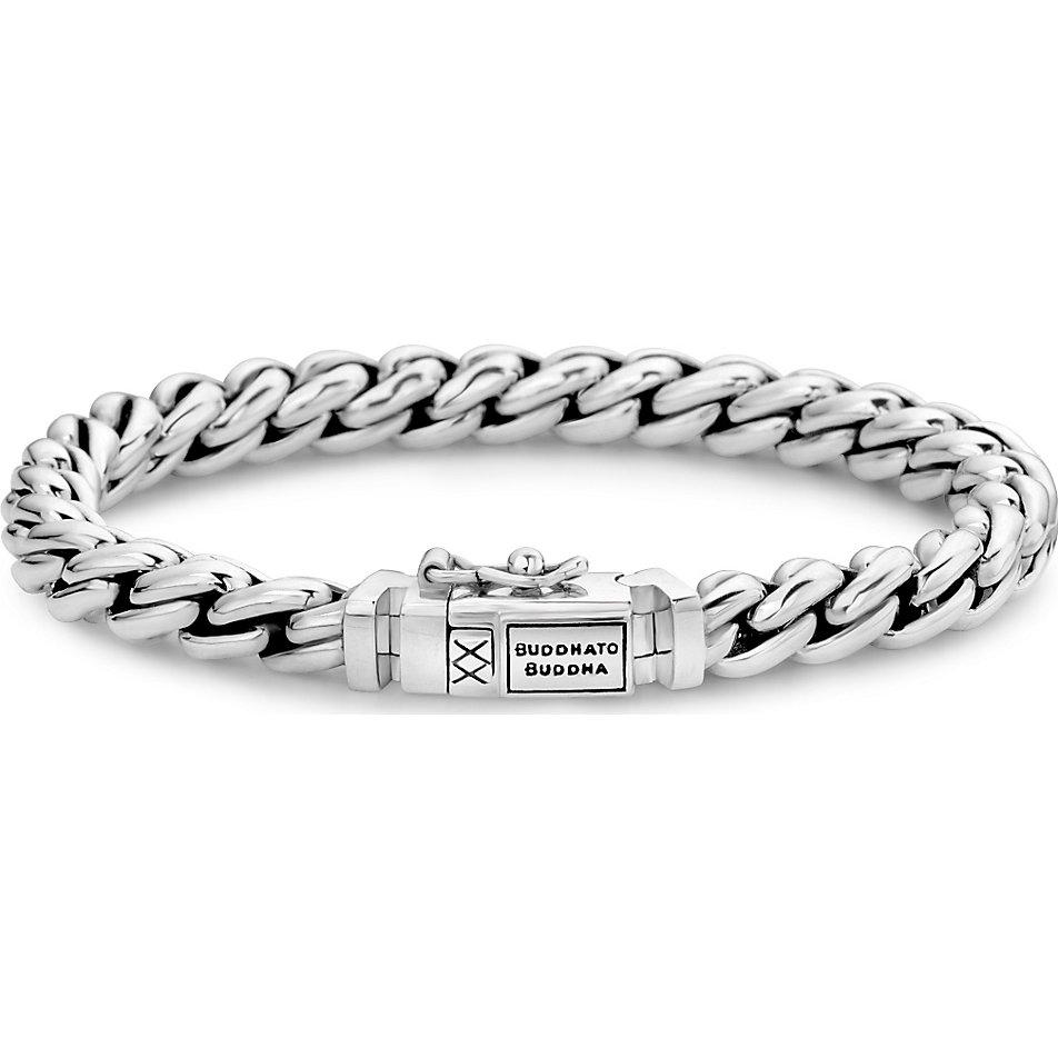 Silber armband buddha