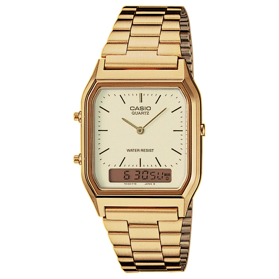 Casio uhr gold damen retro
