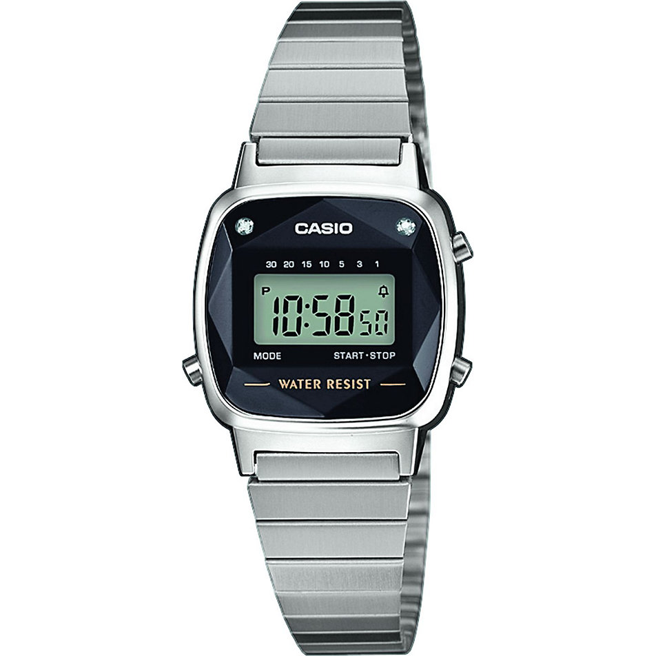 Casio Damenuhr Casio Collection Retro LA670WEAD-1EF