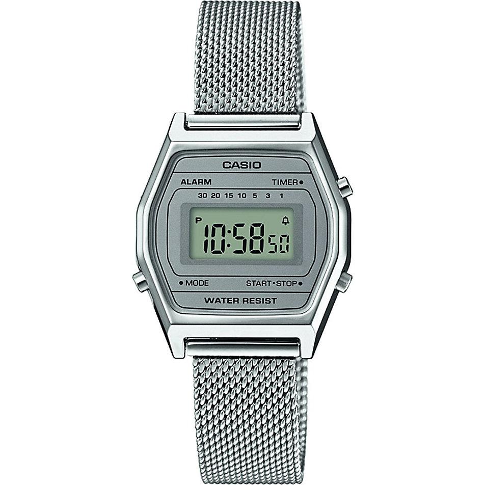 Casio Damenuhr Casio Collection Retro LA690WEM-7EF