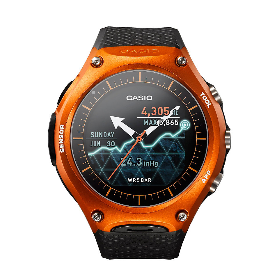 casio smartwatch outdoor watch wsd f10rgbae bei. Black Bedroom Furniture Sets. Home Design Ideas